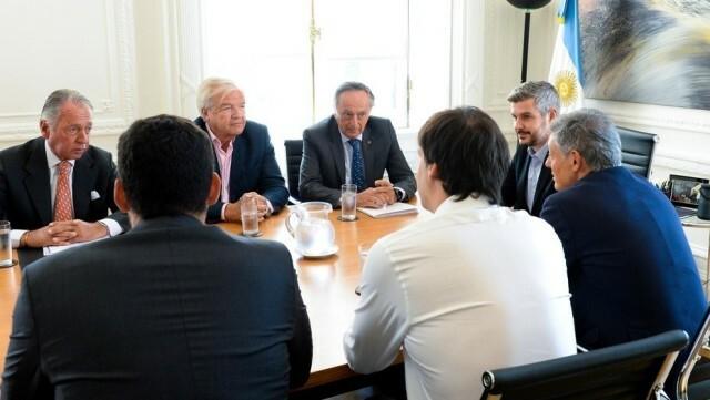 """Marcos Peña les pidió a los industriales menos quejas en público y más apoyo a las medidas """"positivas"""""""