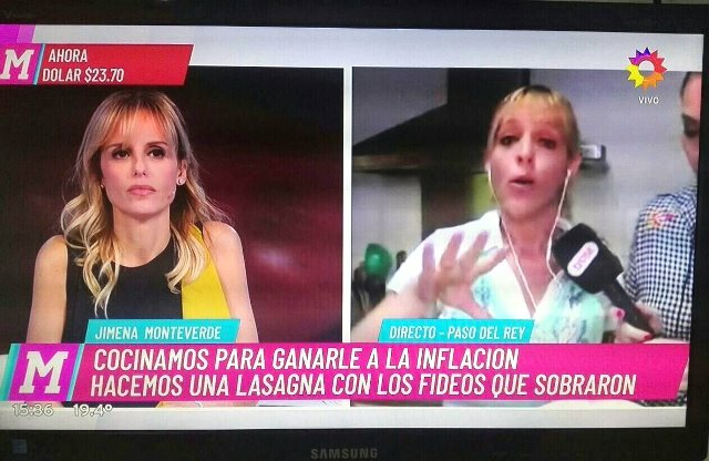 """En el Diario de Mariana enseñaron a cocinar """"lasaña con sobras"""""""