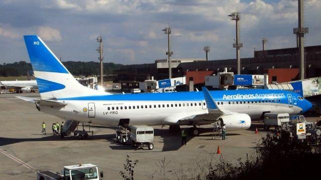 Aerolíneas Argentinas se adhiere al paro convocado por la CGT el 25 de junio