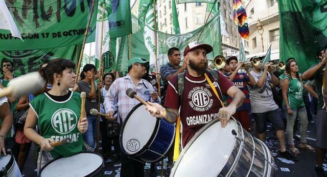 """ATE nacional rechazó la paritaria de 15% que firmó UPCN por """"insuficiente"""""""