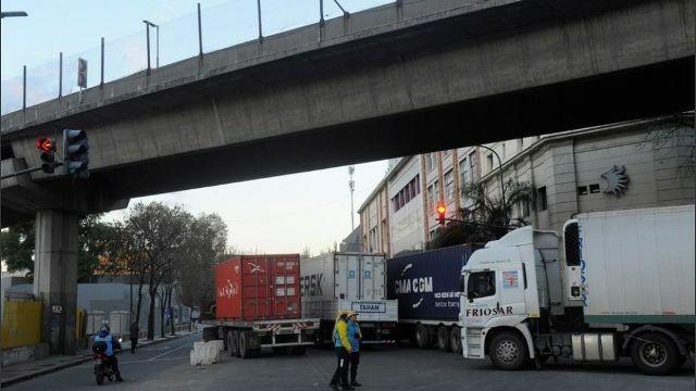 Buenos Aires sitiada por Camioneros