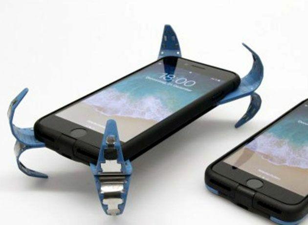 Un estudiante crea una revolucionaria funda para el teléfono móvil