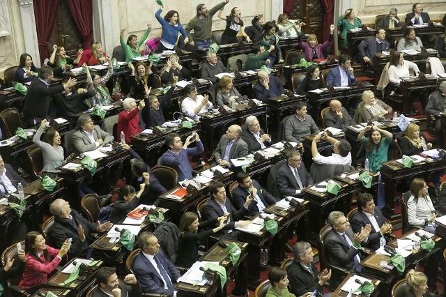 Aborto legal: 129 a favor, 125 en contra y 1 abstención, media sanción para una ley controvertida