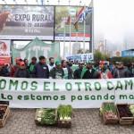 """Verdurazo en la Exposición Rural: """"Somos el otro campo y la estamos pasando mal"""""""