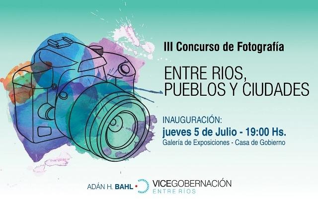 """El próximo jueves se inaugura la muestra fotográfica """"Entre Ríos, pueblos y ciudades"""""""