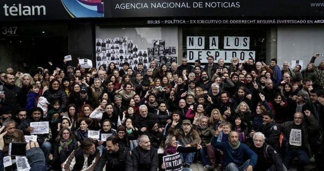 Paradójico: La Justicia multa a Télam por incumplir la cautelar que ordena reinstalar a los trabajadores