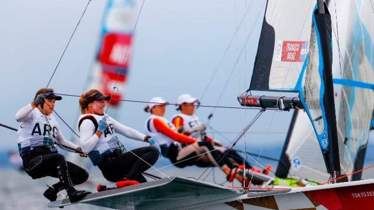 Juegos Olímpicos: velistas Travascio y Branz, décimas en la general de la  clase 49er FX en Tokio | Cuestión Entrerriana
