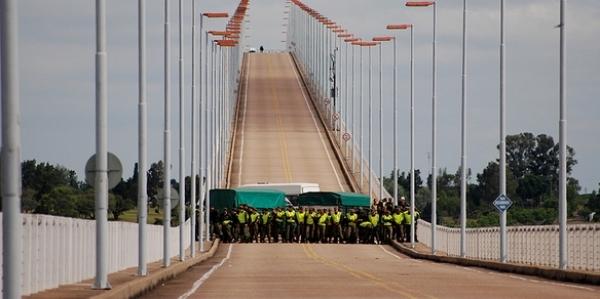 Puente San Martin Uruguay Puente Gral San Martin